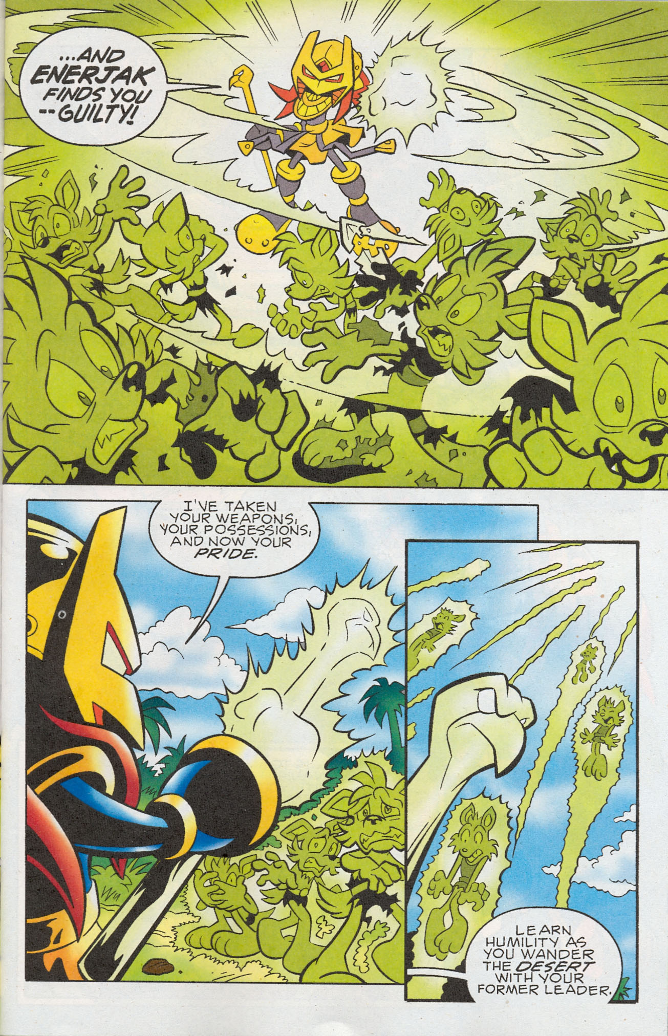 Read online Sonic The Hedgehog comic -  Issue #181 - 4