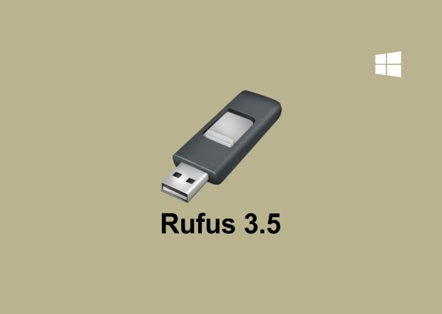 Rufus 3.5 Free Download