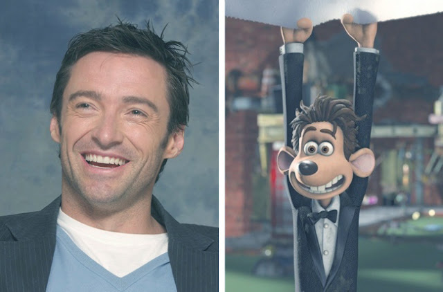 Hugh Jackman - Roddy - Flushed Away
