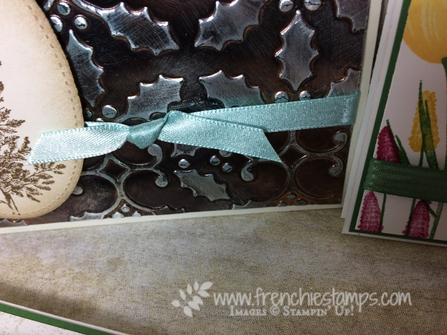 Easy Faux Box, Greeting cad with Bow, Ribbon Stampin'Up!,