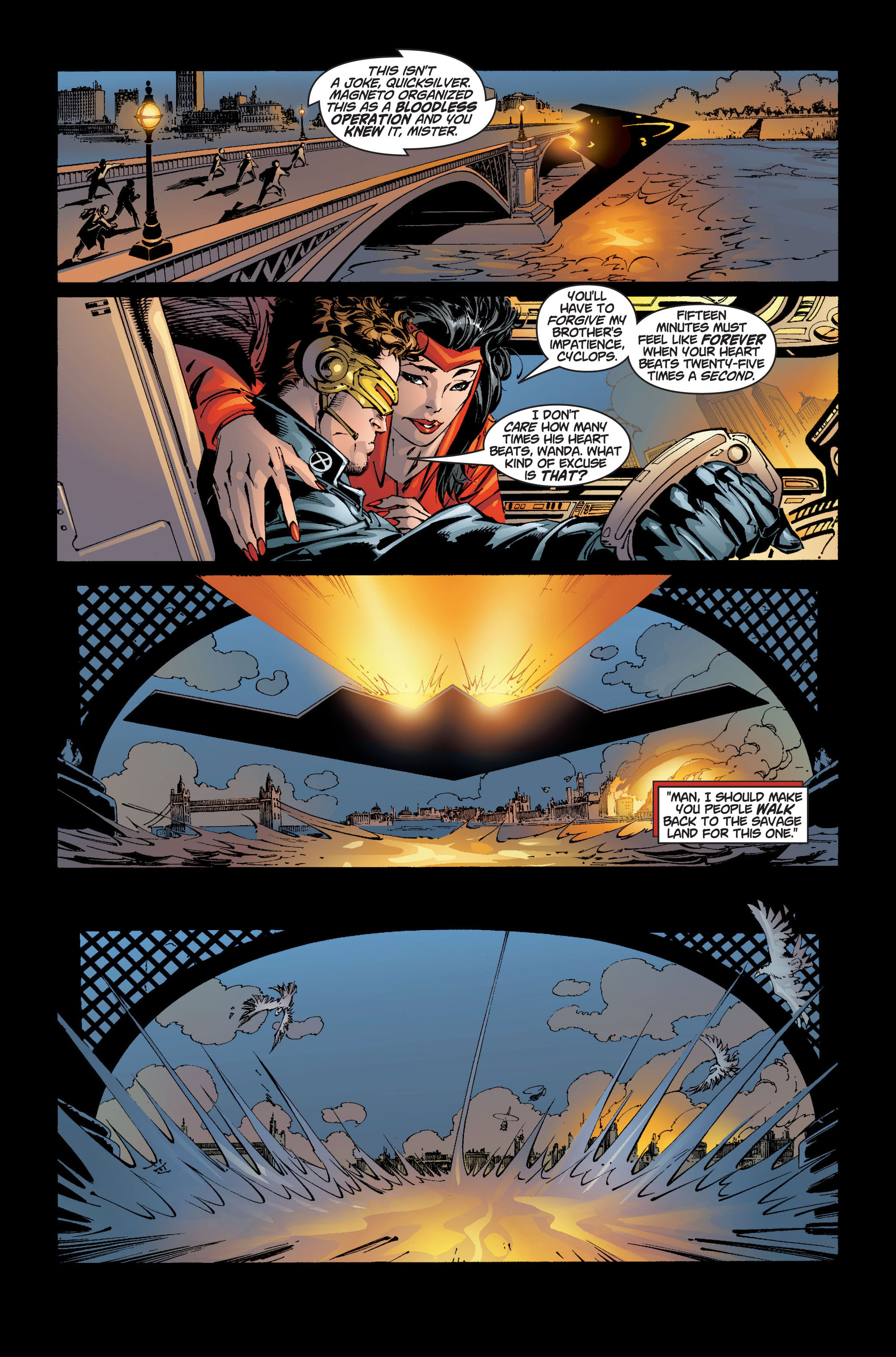 Read online Ultimate X-Men comic -  Issue #5 - 5