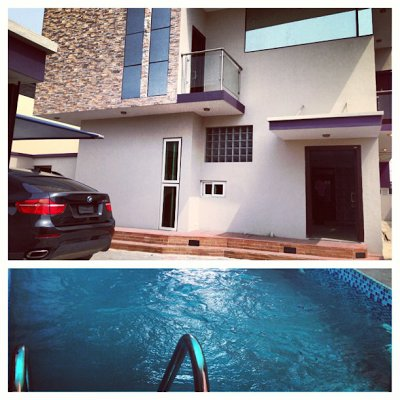 Wizkid's House in Lagos