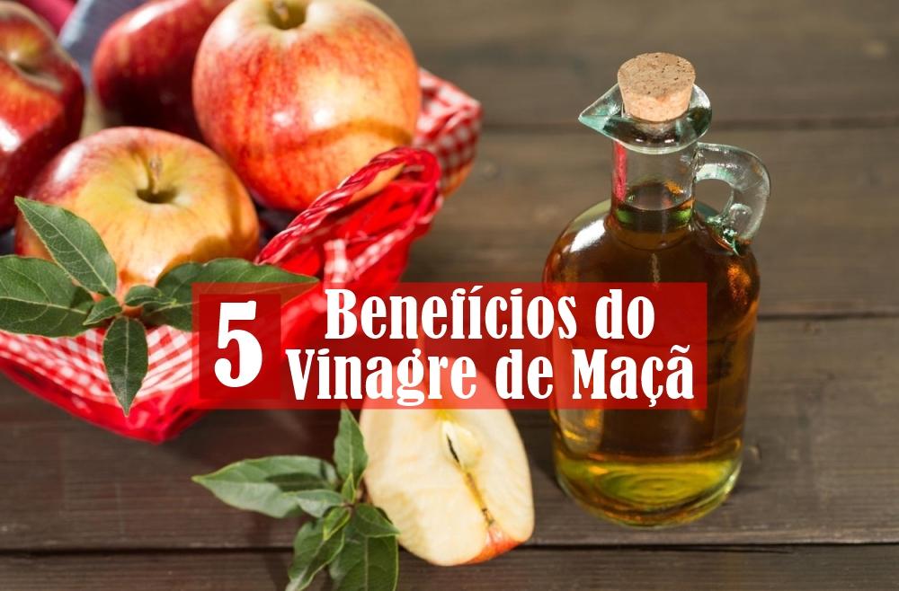 Você conhece estes 5 benefícios do vinagre de maçã para a saúde?
