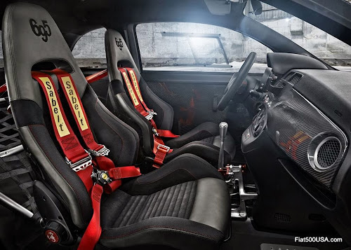 Abarth '695 biposto' interior