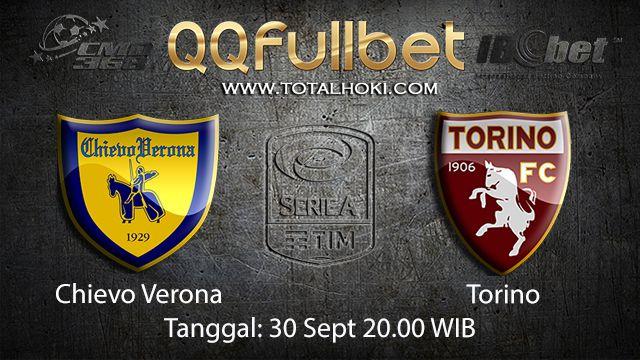 Prediksi Bola Jitu Chievo vs Torino 30 September 2018 ( Italian Serie A )
