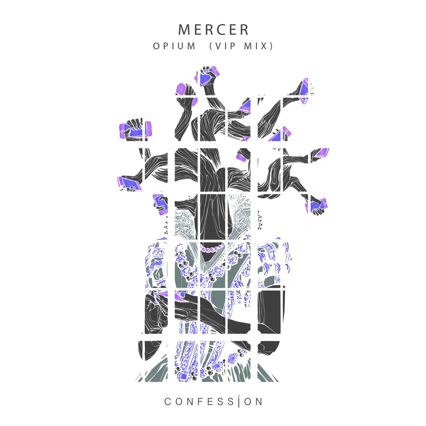 Mercer - Opium (Vip Mix) - Single Cover
