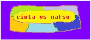 cinta vs nafsu