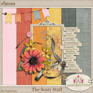 The Scary Stuff by Alexis Design Studio