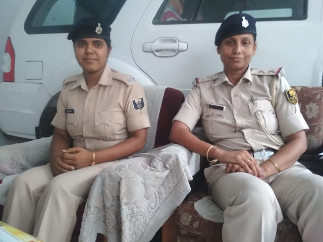 ज्योति कुमारी (दाएं) इस केस की इन्फोर्मेशन ऑफिसर हैं.
