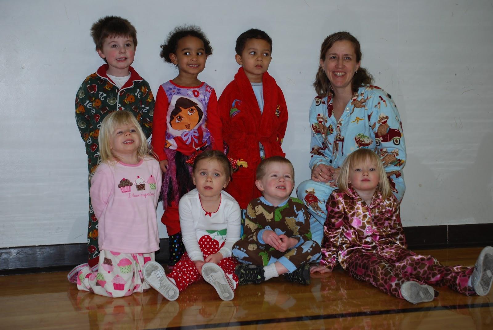 The Phelan Family Preschool Pajama Day