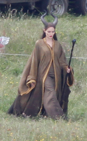 More Pics Of Angelina Jolie As Maleficent Emerge