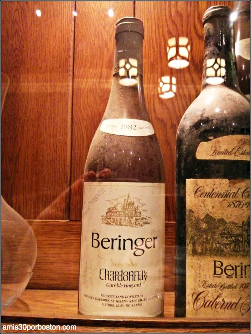 Ruta por las Bodegas del Valle de Napa: Beringer Botella Cosecha del 82