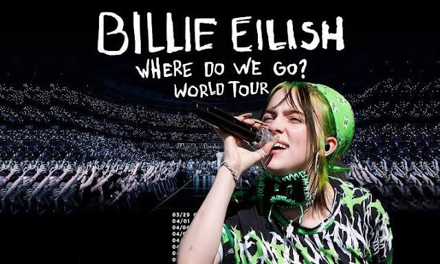 Concierto de Billie Eilish en Palacio de los Deportes en Mexico 2020 compra en preventa boletos baratos en primera fila hasta adelante vip