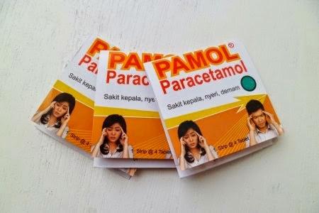Pamol : Paracetamol Tablet 500 mg