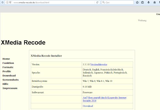 situs resmi untuk download xmedia recode