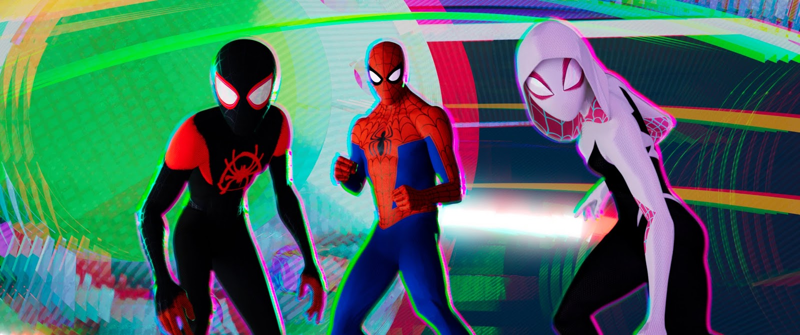 Review Spider Man Into The Spider Verse 2018 From The Front Row