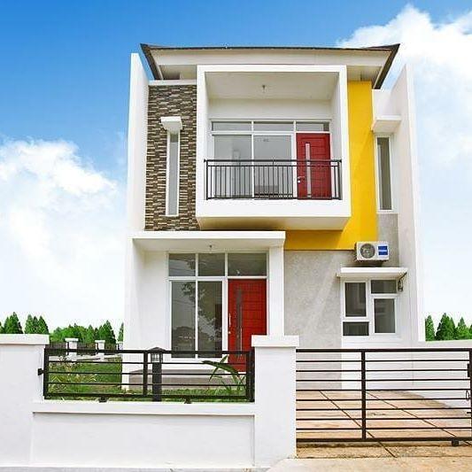 Model Rumah Tingkat 2 Minimalis Mungil Type 36  Desain