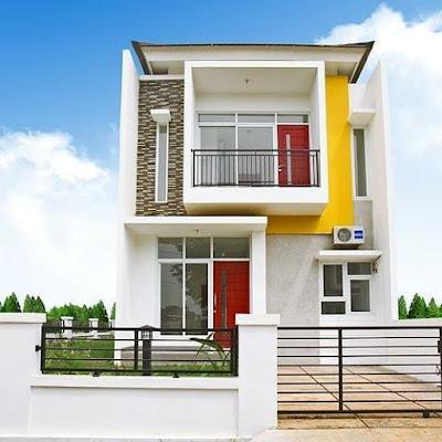 rumah minimalis 2 lantai sangat luas