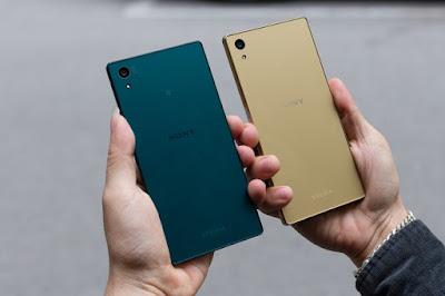 Thiết kế hoàn thiện và tinh xảo ở Sony z5 Nhật