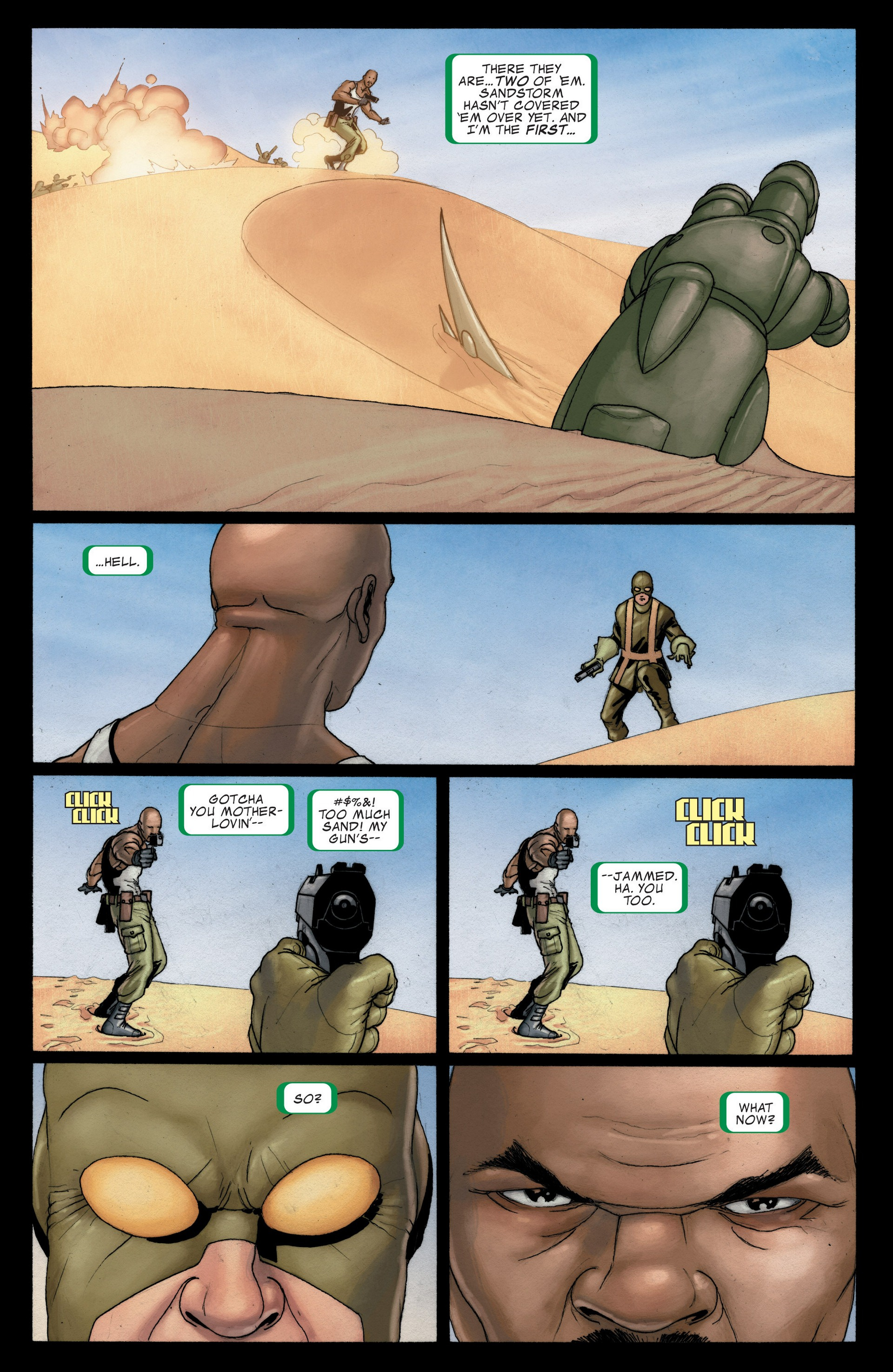 Read online Secret Invasion: The Infiltration comic -  Issue #4 - 6