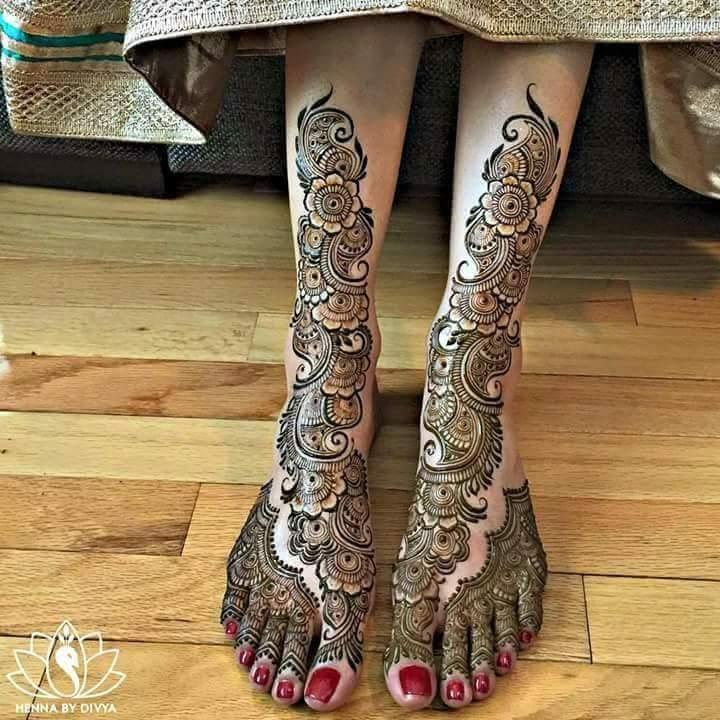 Mehndi Design Flowers Girls Stylish Dp Makeup Applying Tips