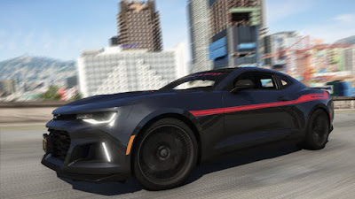 Download mod carro esportivo Hennessey Camaro Exorcist ZL1 para o jogo GTA 5 PC