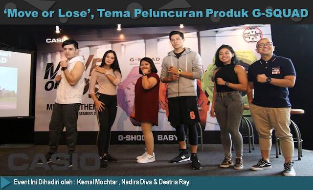 Peluncuran Casio G-SQUAD - Blog Mas Hendra