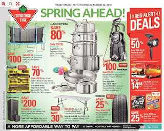 Canadian Tire Flyer Weekly Flyer Spring Ahead 3/16/18 - 3/22/18