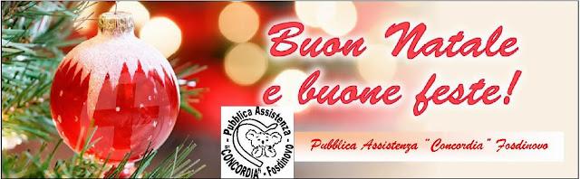 Buon Natale 118.Pubblica Assistenza Concordia Fosdinovo Dicembre 2014