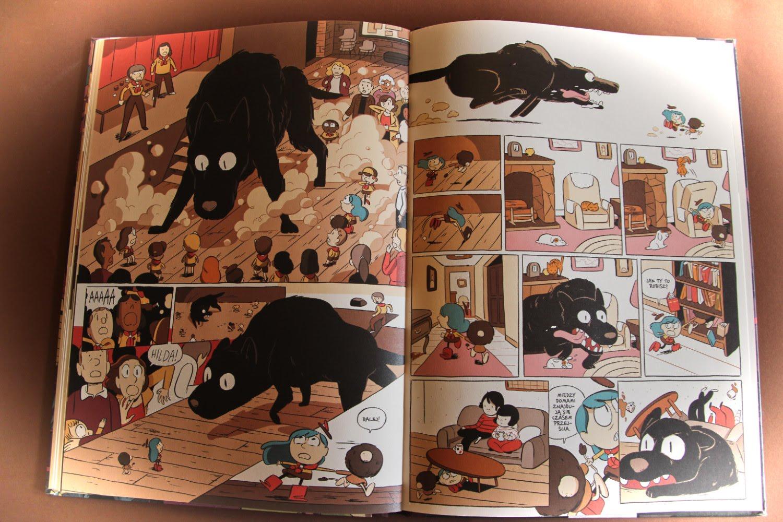 """Hilda i czarna bestia"" Luke Pearson"