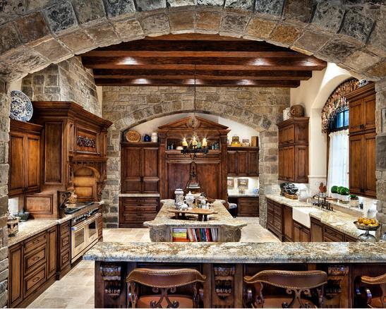 cocina de piedra la toscana
