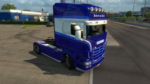 Robert Van Herk paint job for Scania RJL