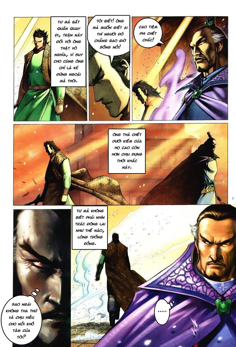 Anh hùng vô lệ Chap 6: Anh hùng hữu lệ trang 7