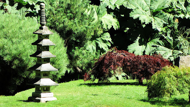 Mayne Island's Japanese Gardens...