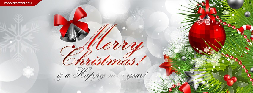 download free merry christmas facebook cover photos