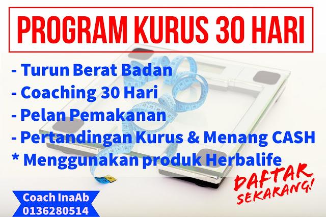 Herbalife Coach Malaysia: Program Turun Berat Badan Herbalife