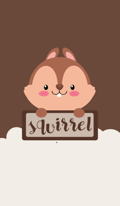 I'm Lovely squirrel Theme