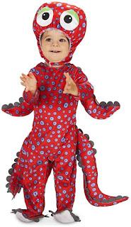 Toddler Octopus Costume