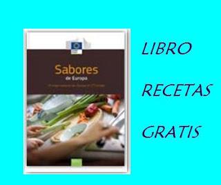 RECETARIO SABORES DE EUROPA GRATIS