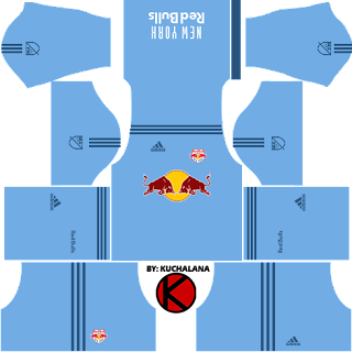 New York Red Bulls kits 2017 - Dream League Soccer