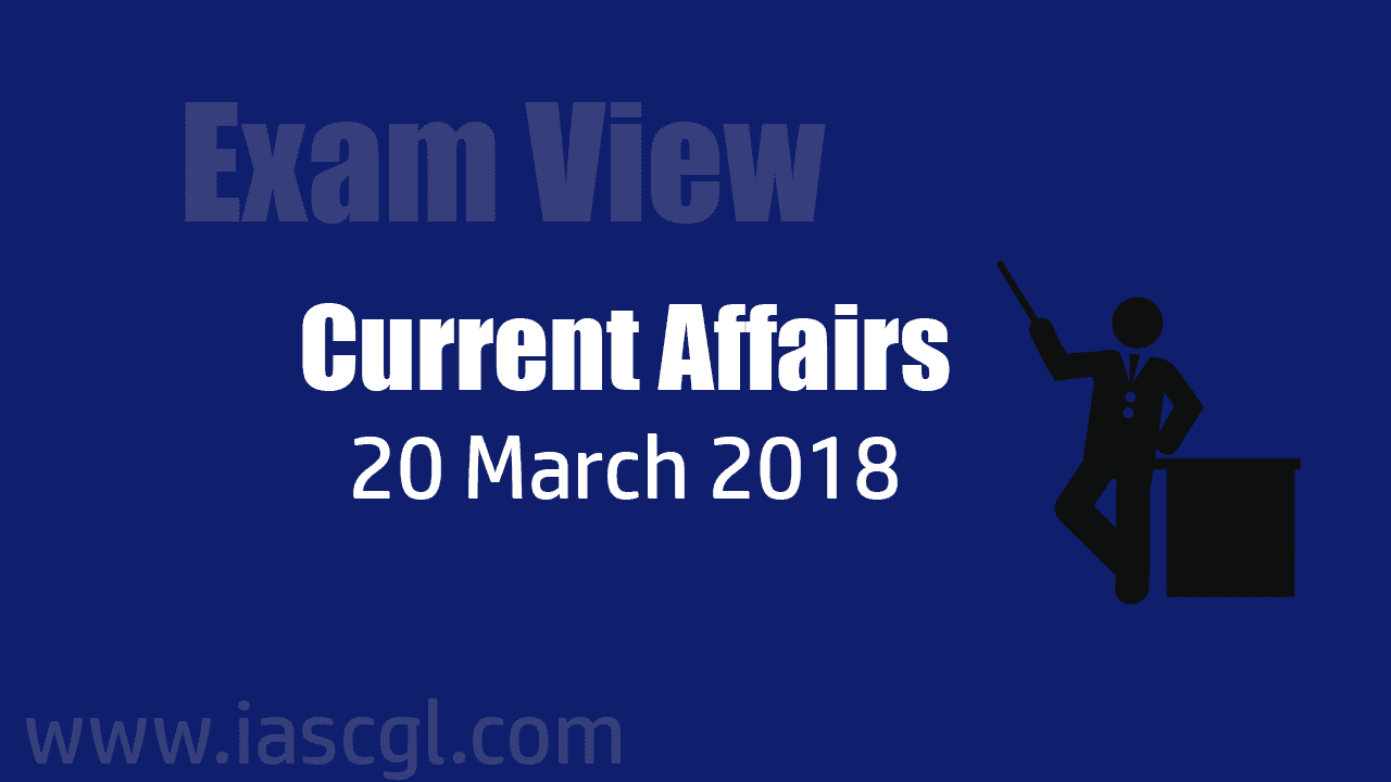 Current Affair 20 march 2018