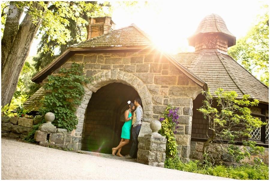 New Jersey Engagement Botanical Gardens J R Photography Wedding Photographer