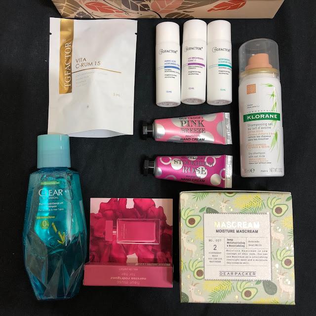 Butybox 美妝盒10月份開箱