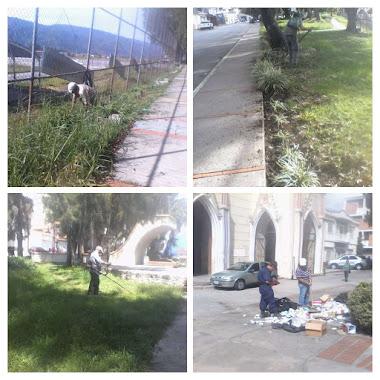 Mantenimiento de parques y plazas por parte de Cormetur es permanente