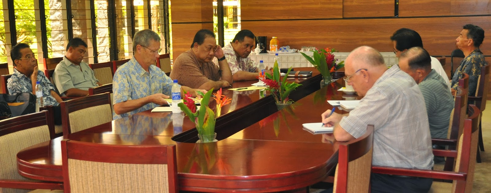 fsmupdates chuuk state principal leaders meet with