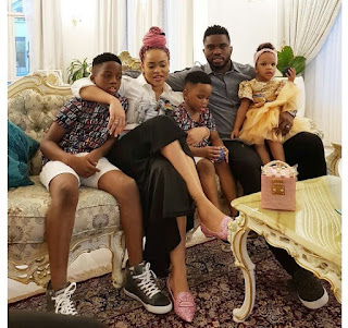 Checkout Family Photos Of Joseph And Adaeze Yobo