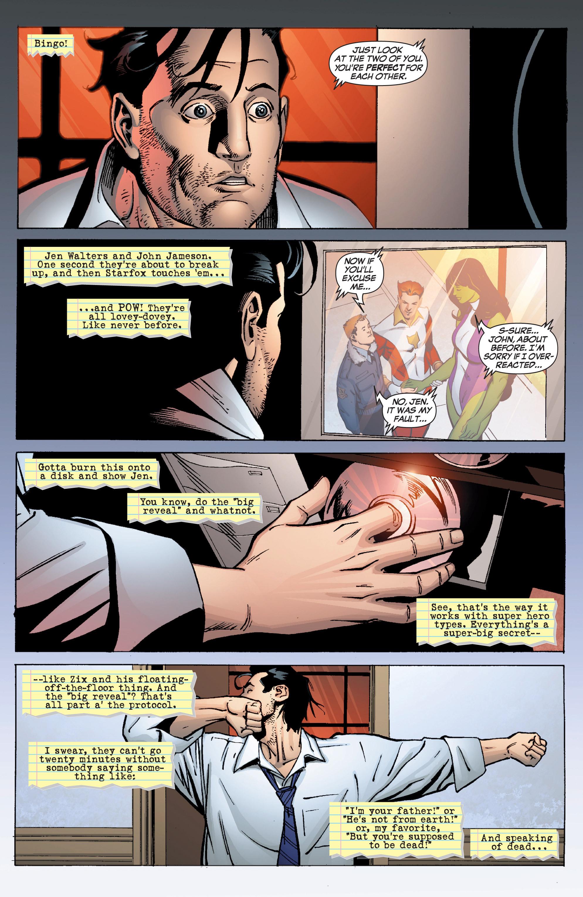 Read online She-Hulk (2005) comic -  Issue #9 - 4