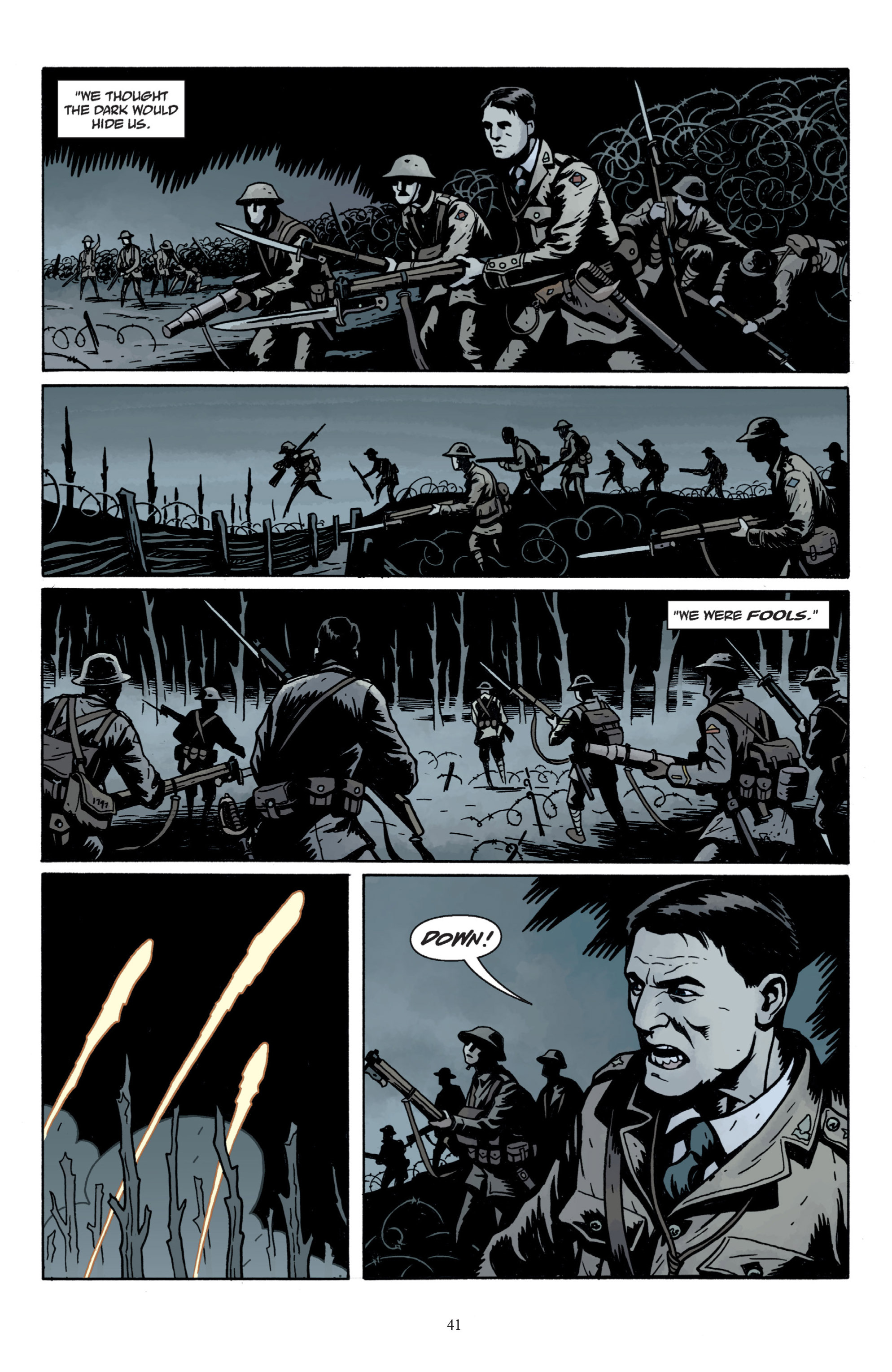 Read online Baltimore: The Plague Ships comic -  Issue # TPB - 43