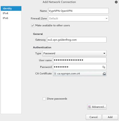 Cara install VPN dan OpenVPN di Kali Linux