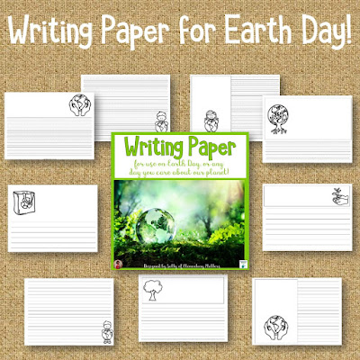 Earth Day Resources and Freebies - Looking for ideas to help your children think about Earth Day? Here are several ideas as well as 2 freebies!